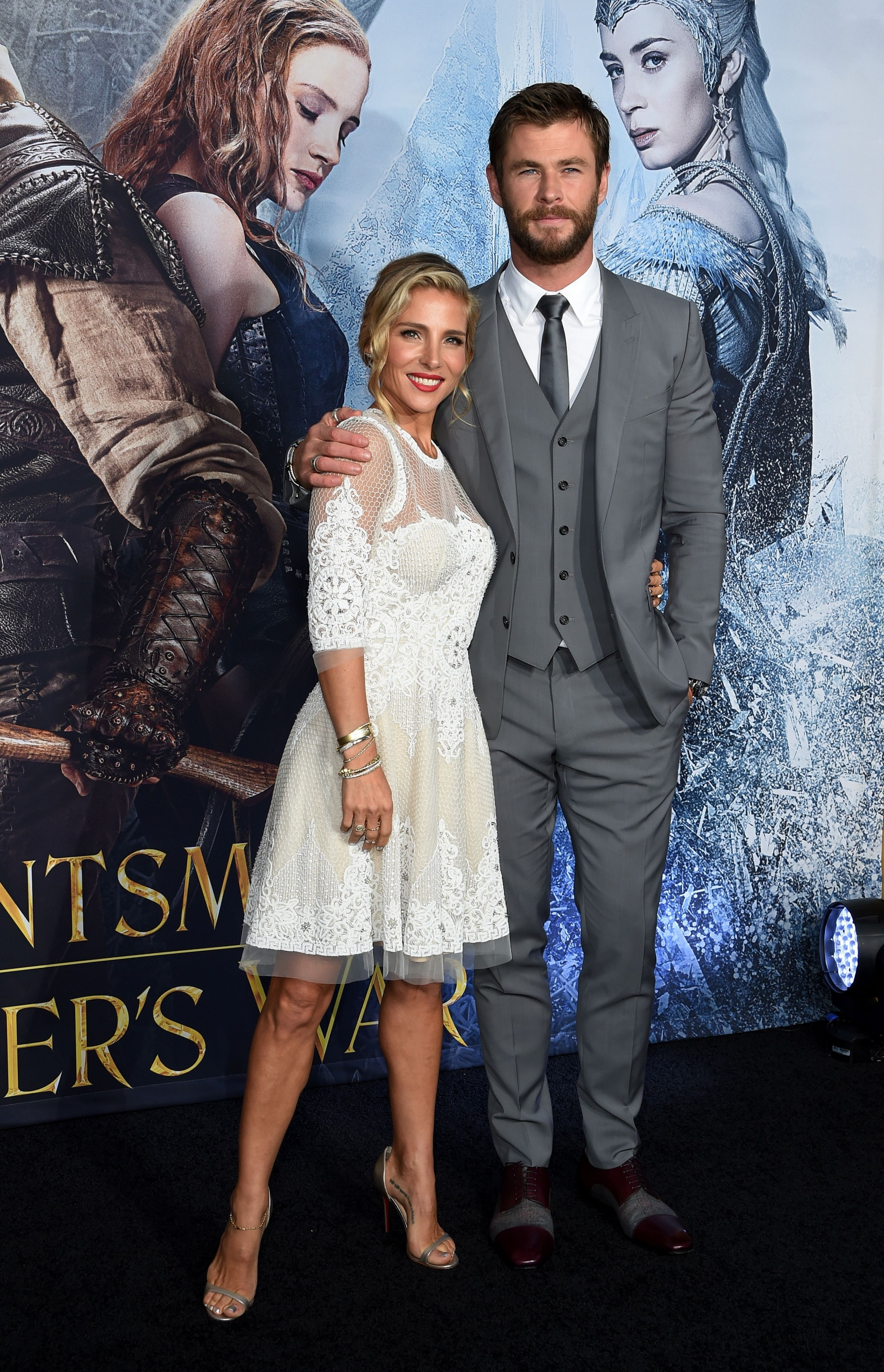 Chris Hemsworth and Elsa Pataki