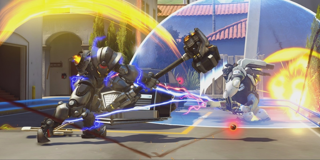Overwatch Pro competitive eSports
