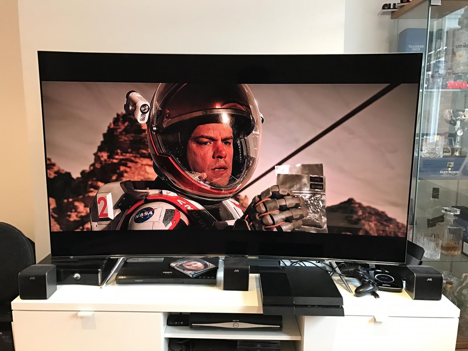 The Martian UHD Blu-ray on Samsung TV