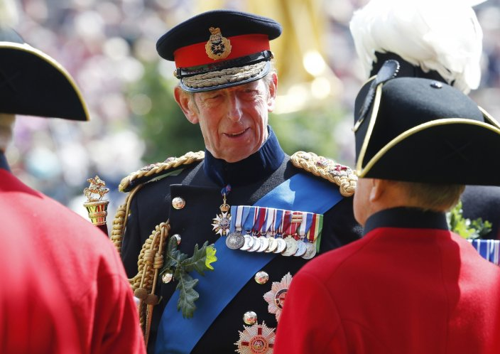 Duke of Kent meets Chelsea Pensioners