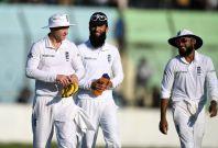 Gareth Batty, Moeen Ali and Adil Rashid