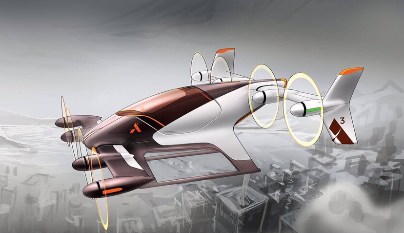 Vahana personal flight vehicle developed by Airbus