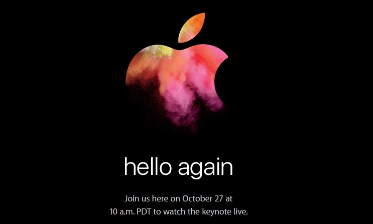 Apple event 27 October