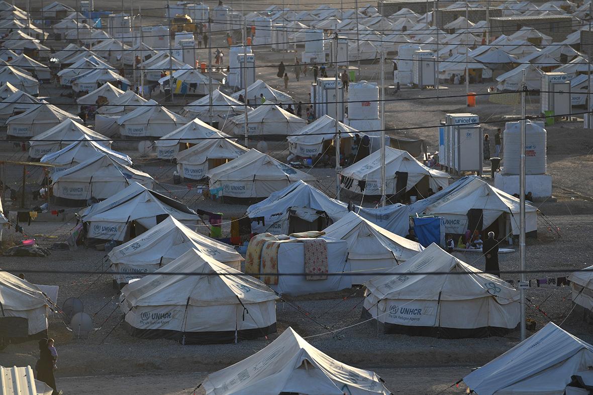 Mosul refugees