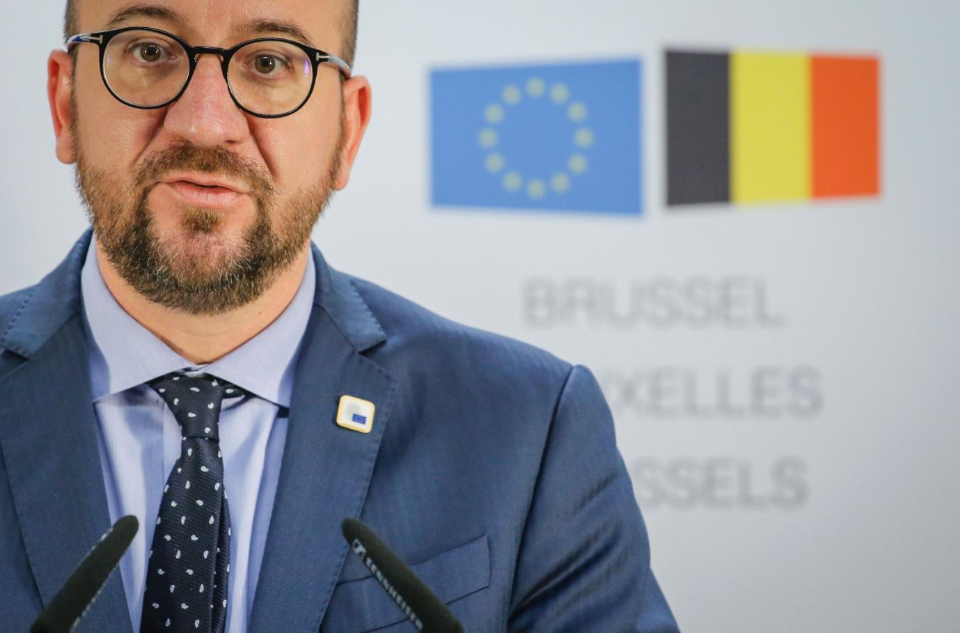 Charles Michel, prime minister of Belgium
