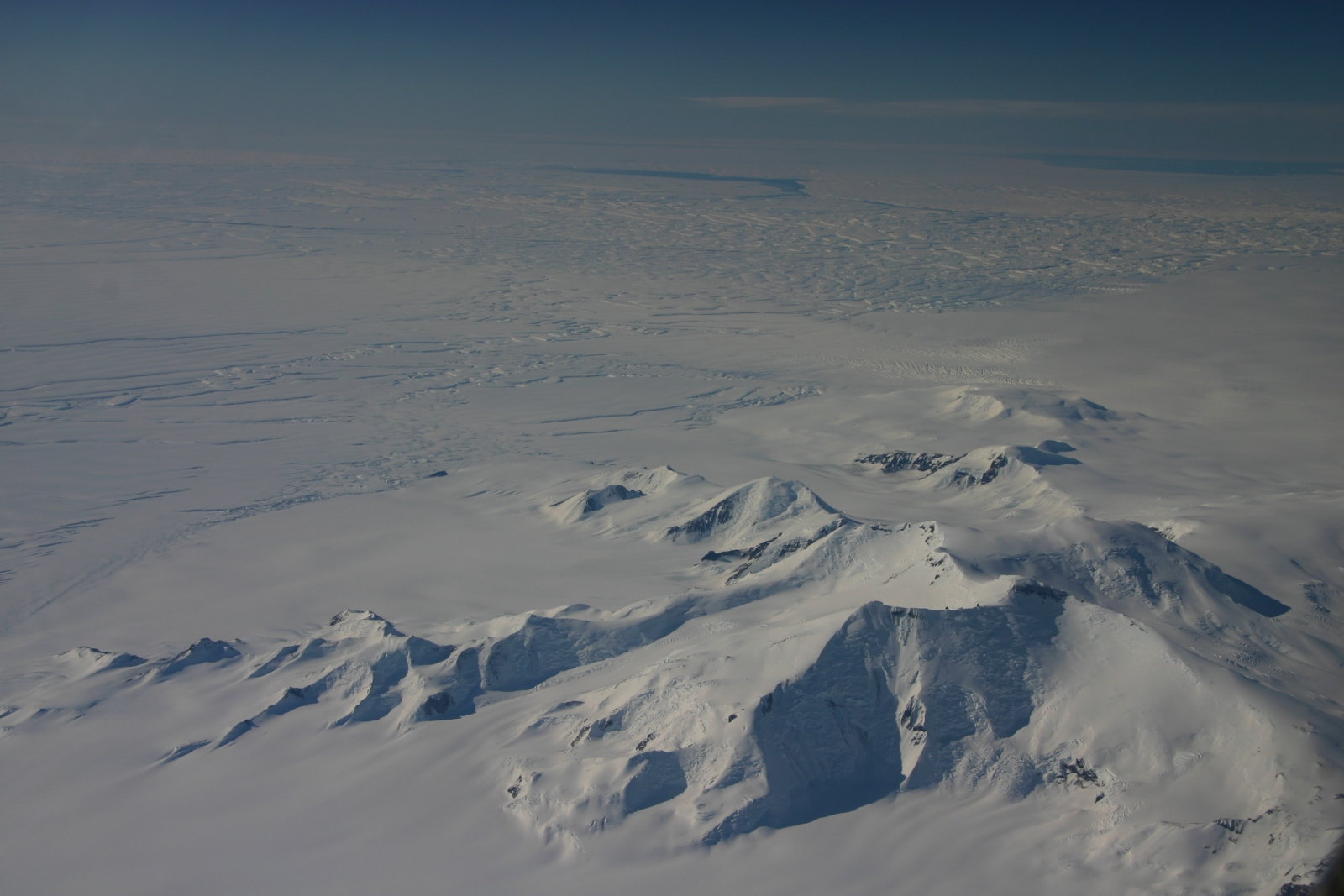 Antarctic glacier thinning more rapidly than thought