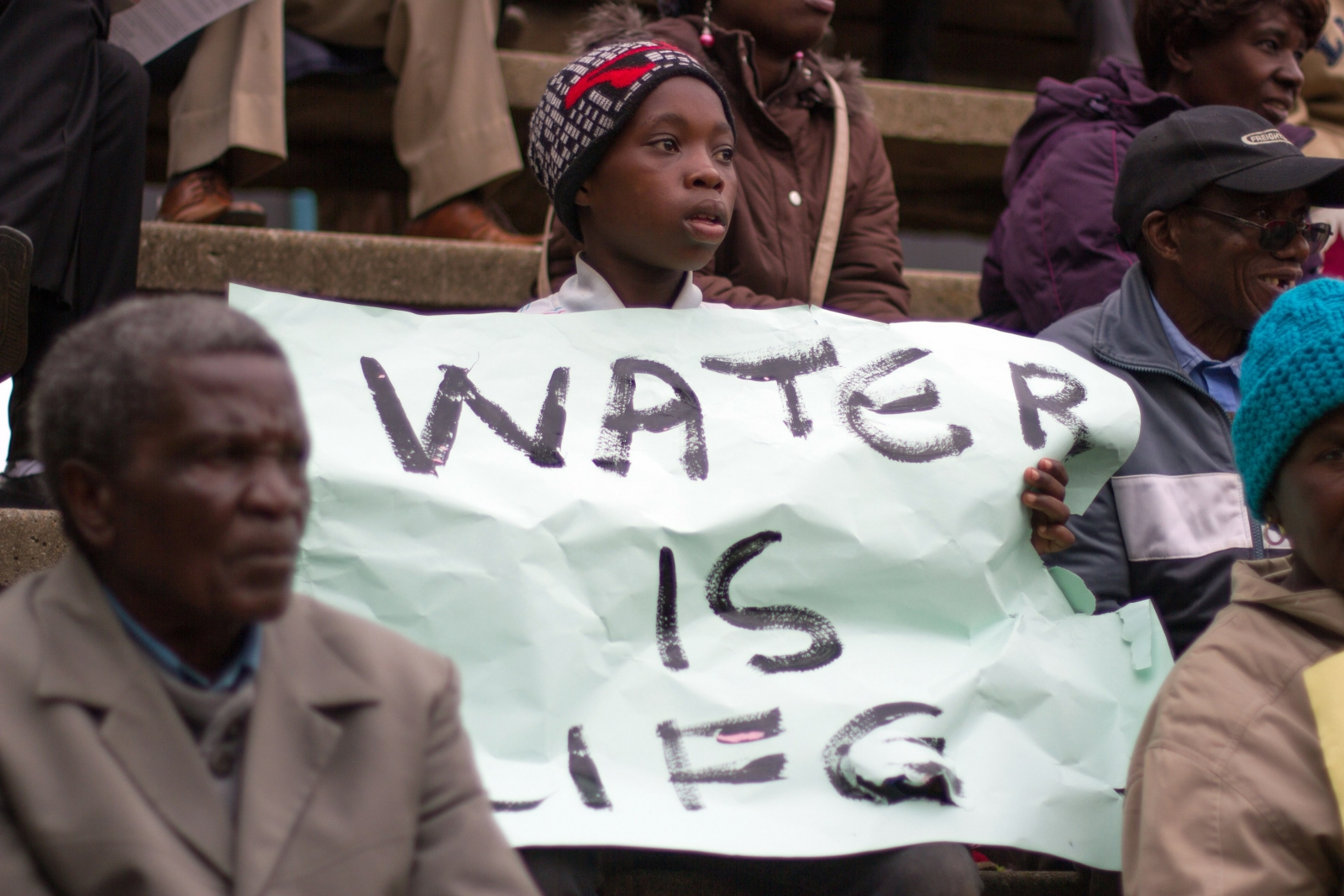 Water supply crisis in Zimbabwe