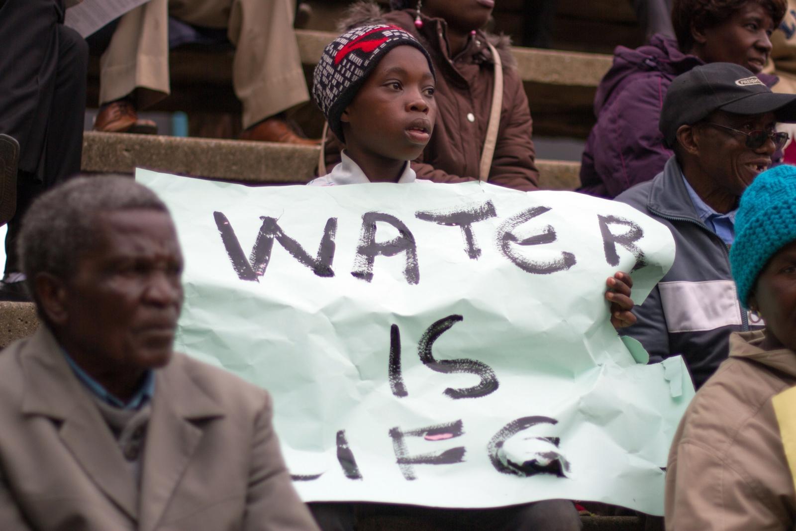 Water supply crisis in Zimbabwe