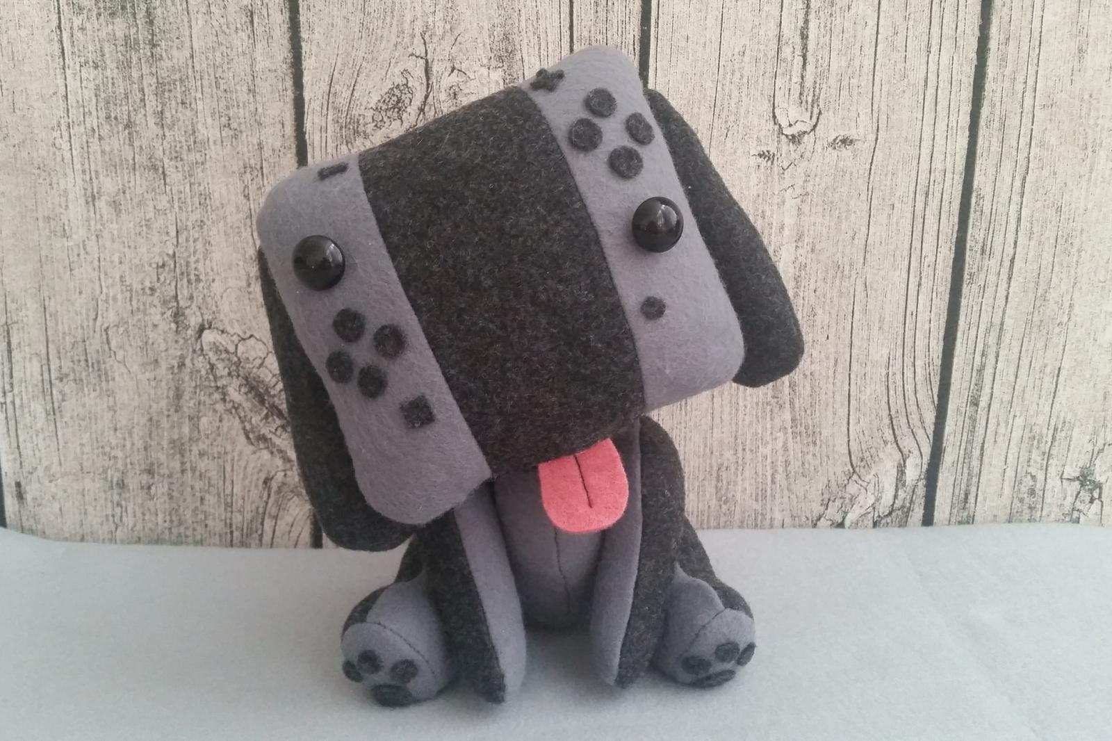 Nintendo Switch Dog Plush Toy