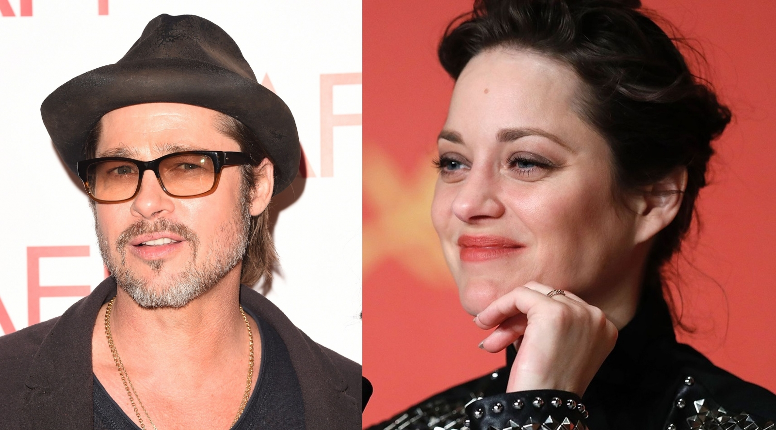 Brad Pitt and Marion Cotillard