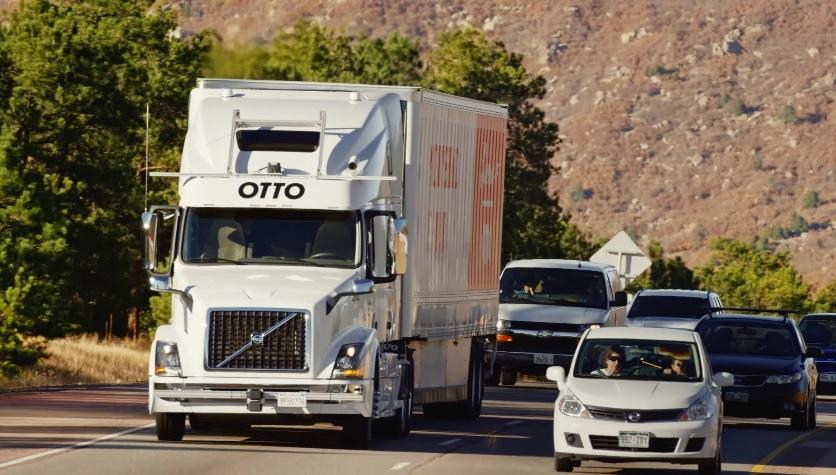 Otto Uber truck