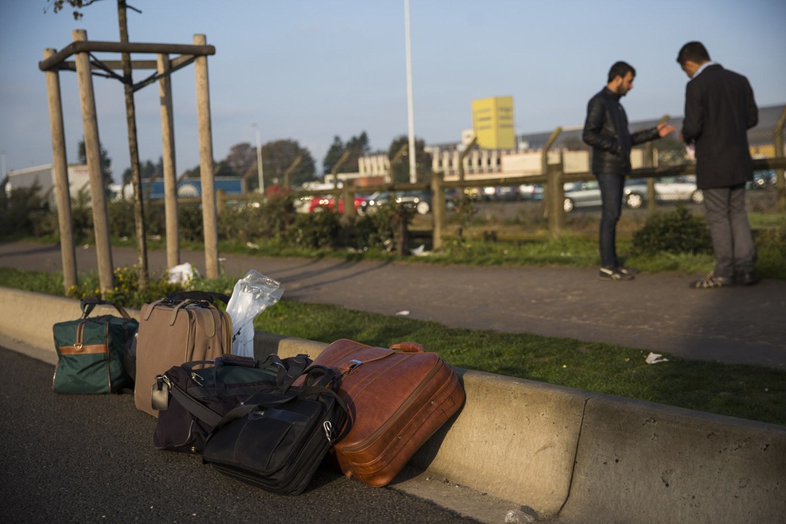 Calais refugees relocated in France
