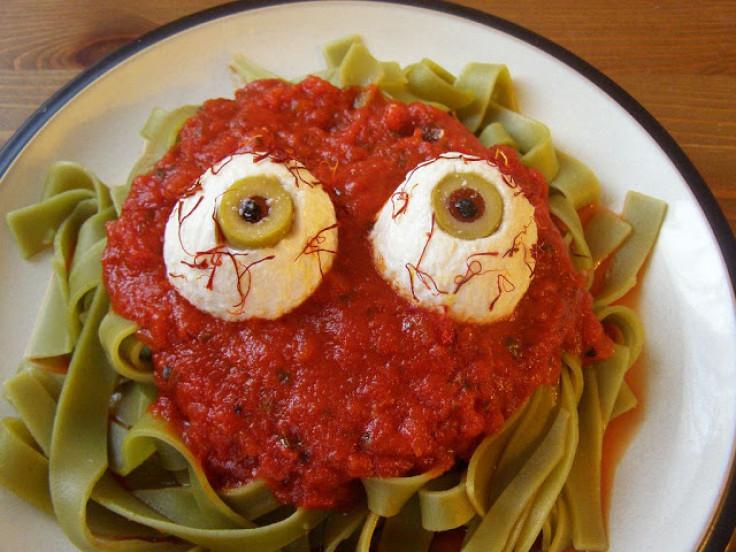 eyeball pasta