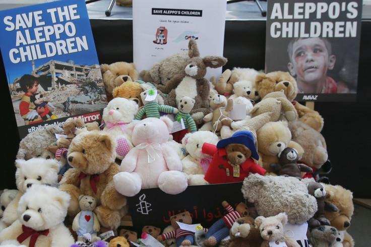 Aleppo toy smuggler