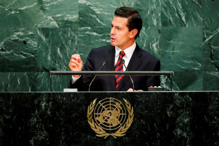 Mexico's President Enrique Pena Nieto