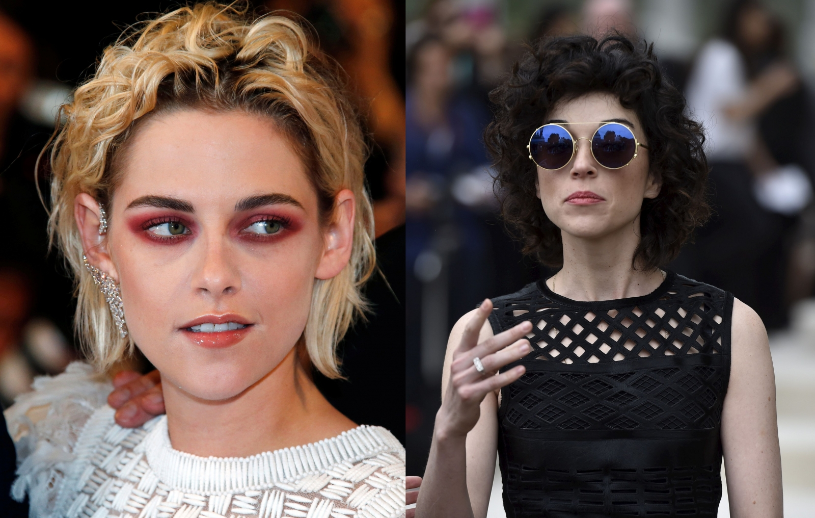 Kristen Stewart and St Vincent