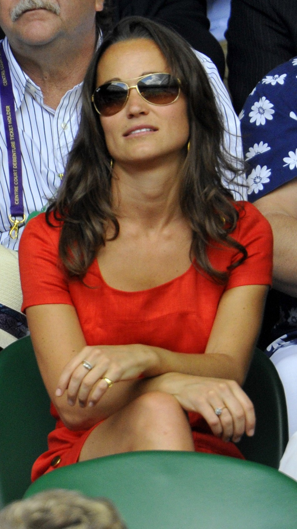 Pippa Middleton at the Wimbeldon Tennis Championships