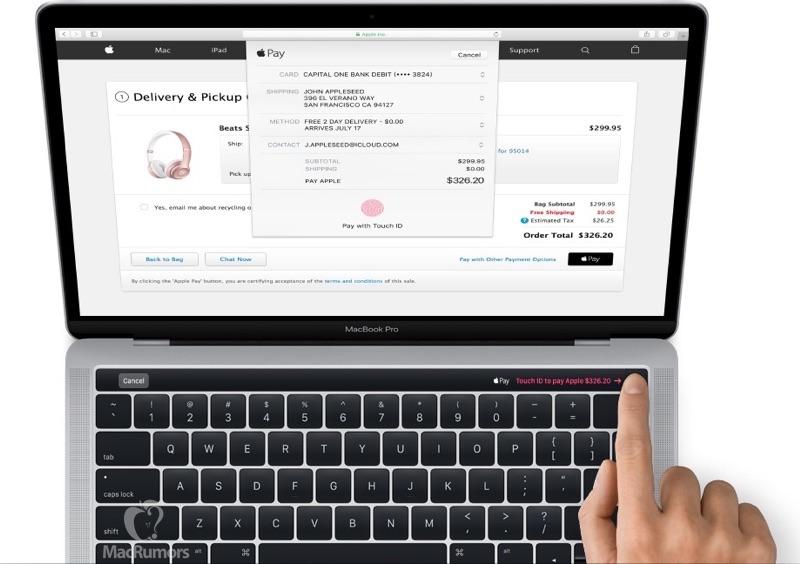 MacBook Pro Magic Toolbar leak