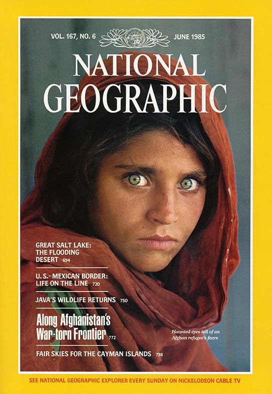 Nat Geo's green eyed Afghan girl