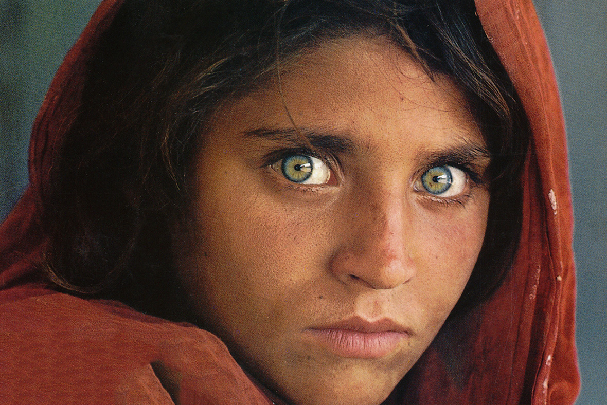 Nat Geo's green eyed Afghan girl