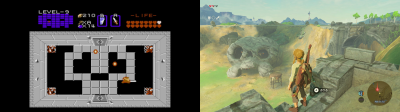 Legend of Zelda NES Wii U Switch
