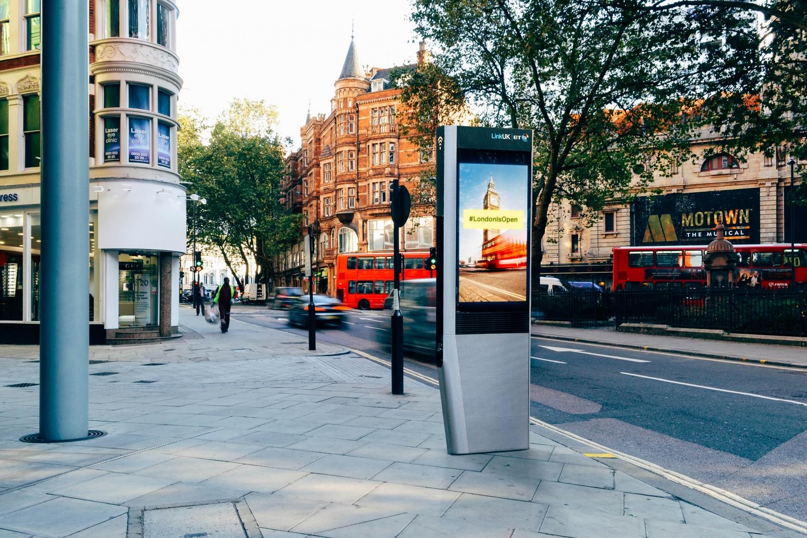 Link UK kiosk