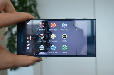 Sony Xperia XZ review camera 4k video