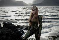 Amber Heard as DC Comics character Mera