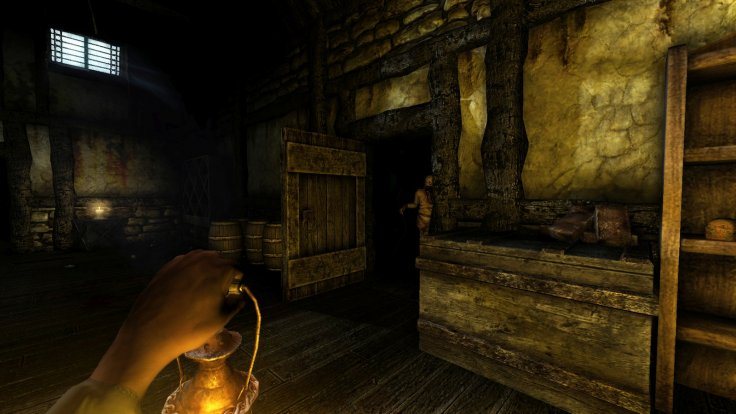 Amnesia gameplay