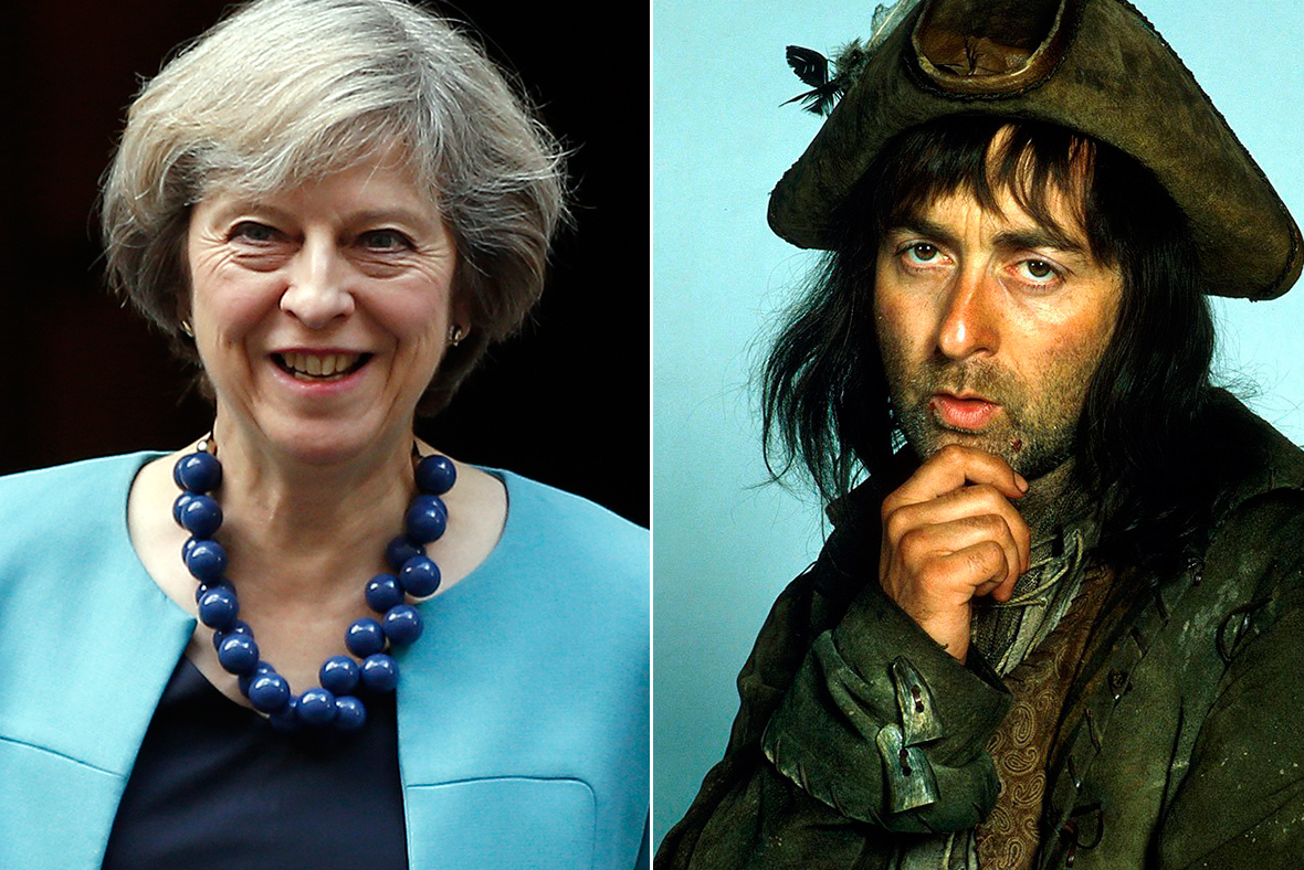 Theresa May, Baldrick