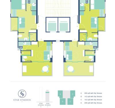 Star Studios floor plan