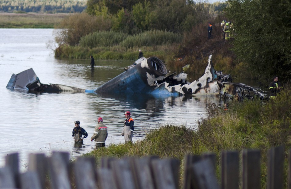 Russia Hockey Team Killed in Plane Crash