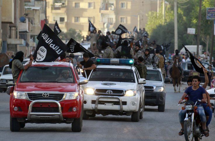 Isis in Raqqa