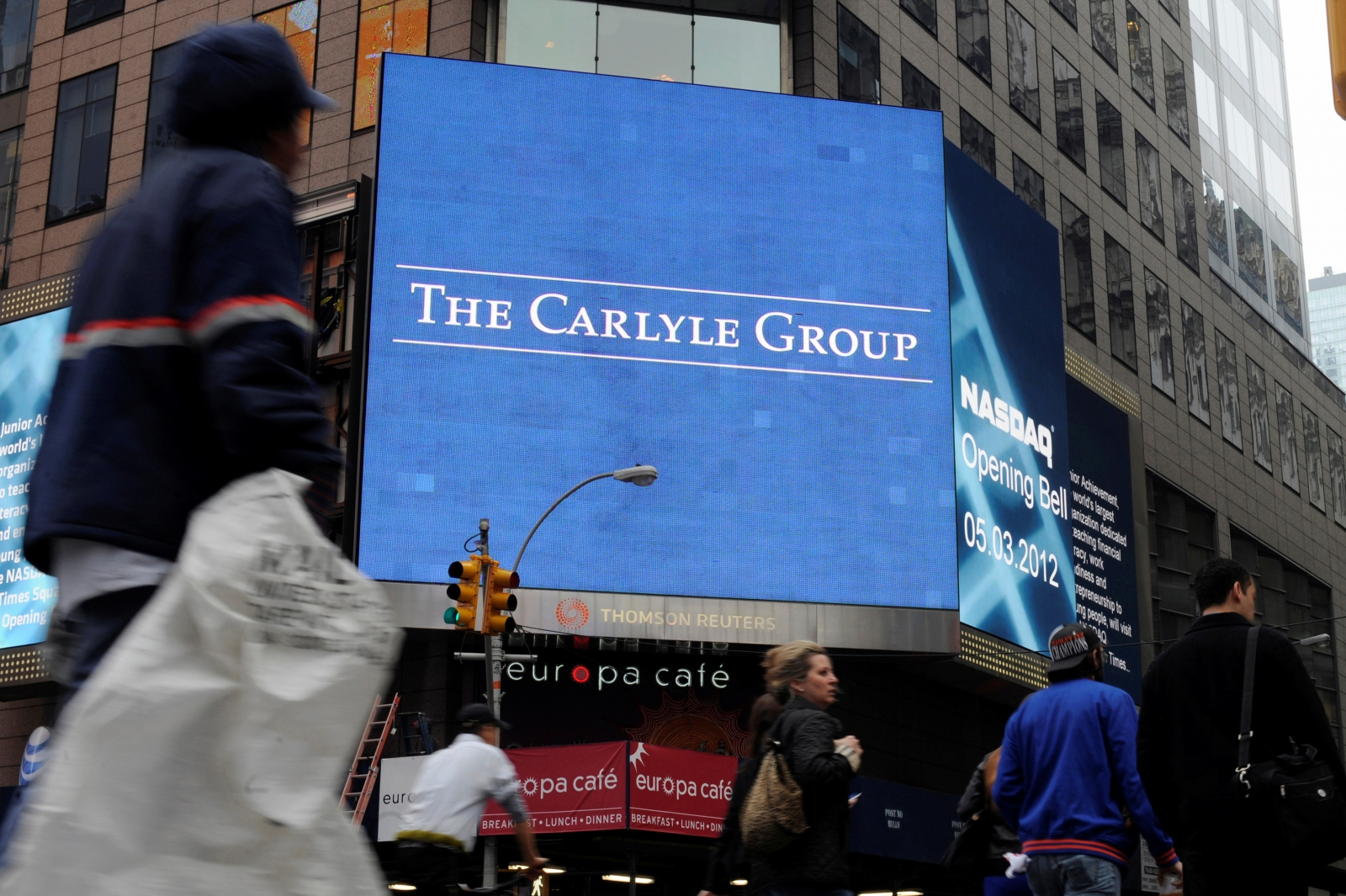 PE firm Carlyle aims to raise another $100bn over the next four years