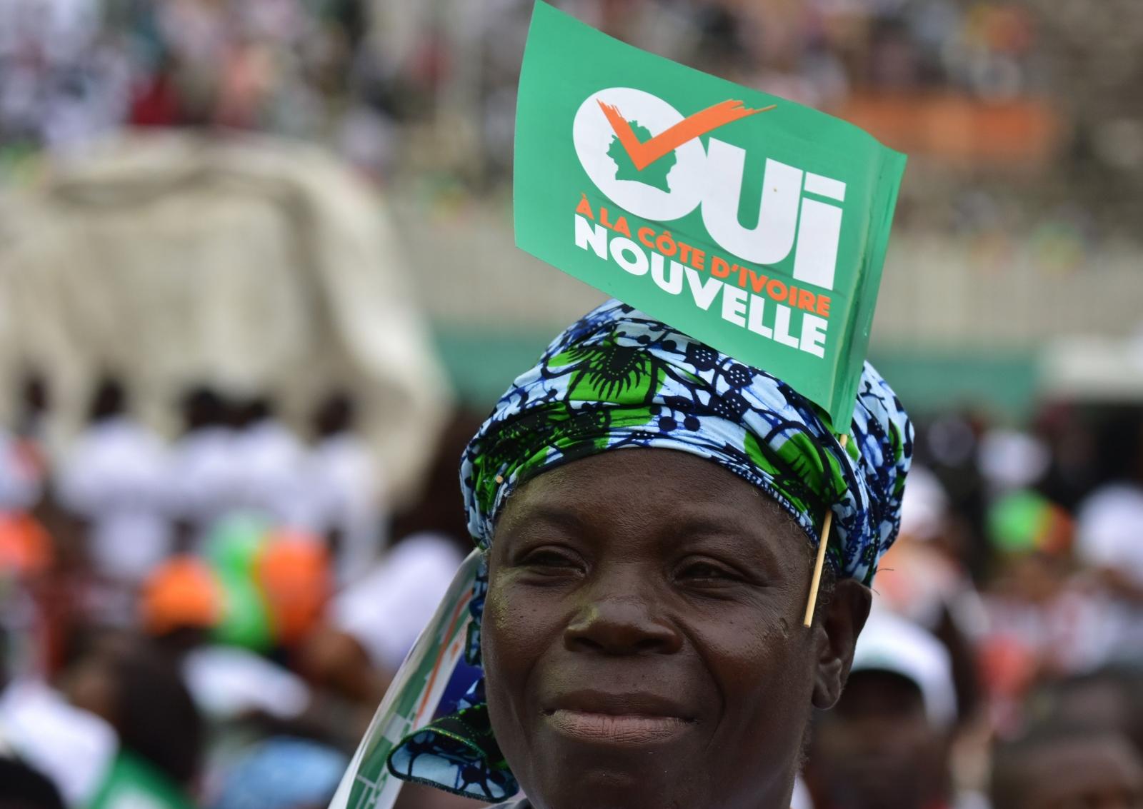 """Cote d'Ivoire """"Yes"""" campaign"""