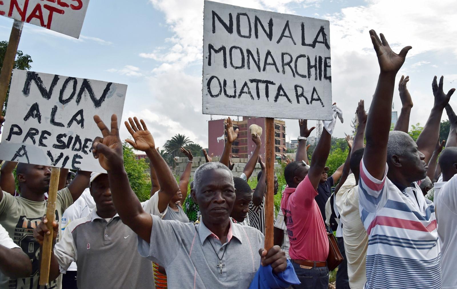 """Cote d'Ivoire """"No"""" campaign"""