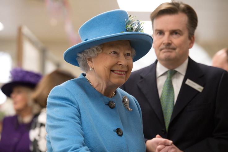 Queen at Waitrose