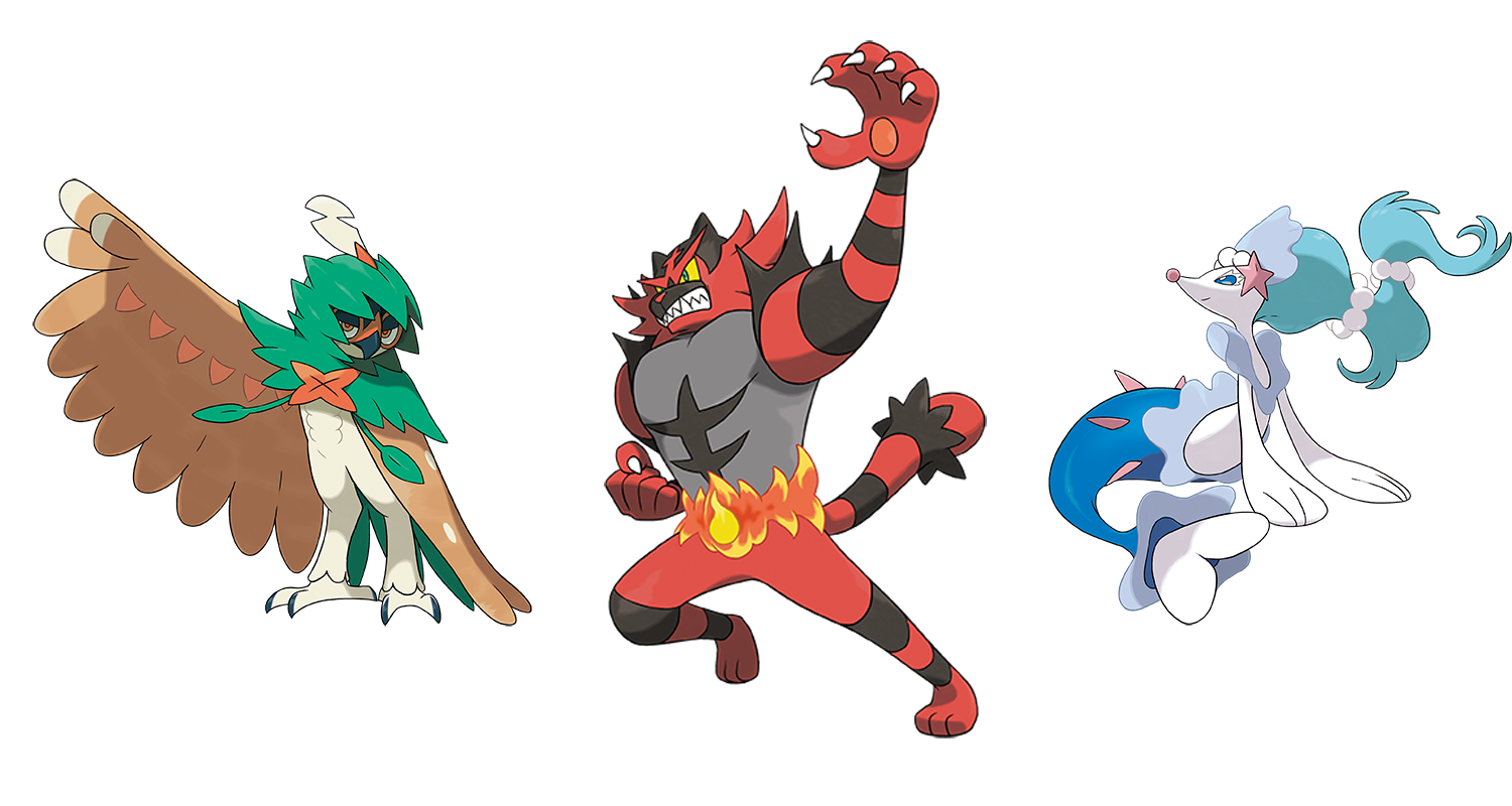 Pokemon Sun and Moon: Every new Pokemon announced so far ...
