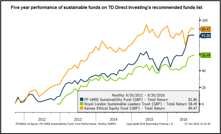 Investing in sustainability: Good for your health, and good