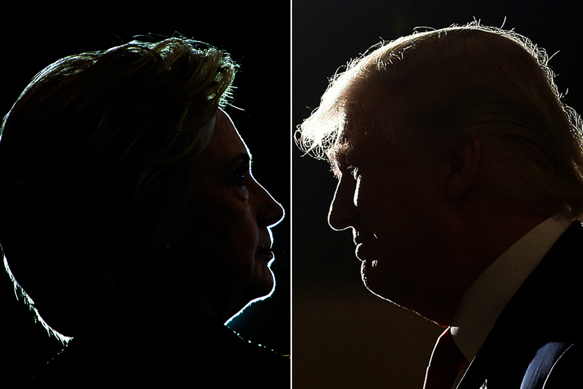 Clinton leads Trump 42 to 36 percent as he loses women's support