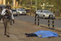 Knife attack outside US Embassy in Nairobi