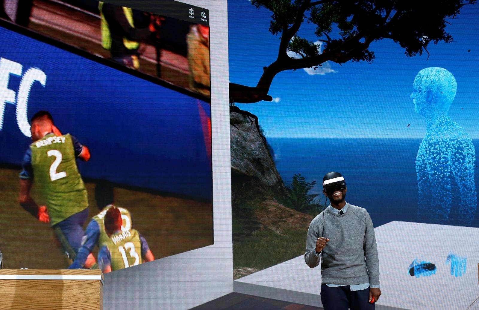 Microsoft VR headset