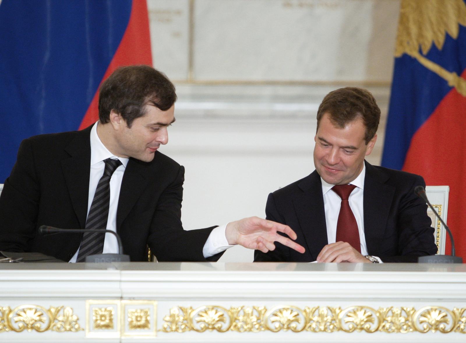 Surkov and Medvedev