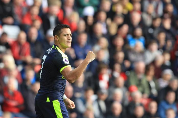Alexis Sanchez gave Arsenal the lead