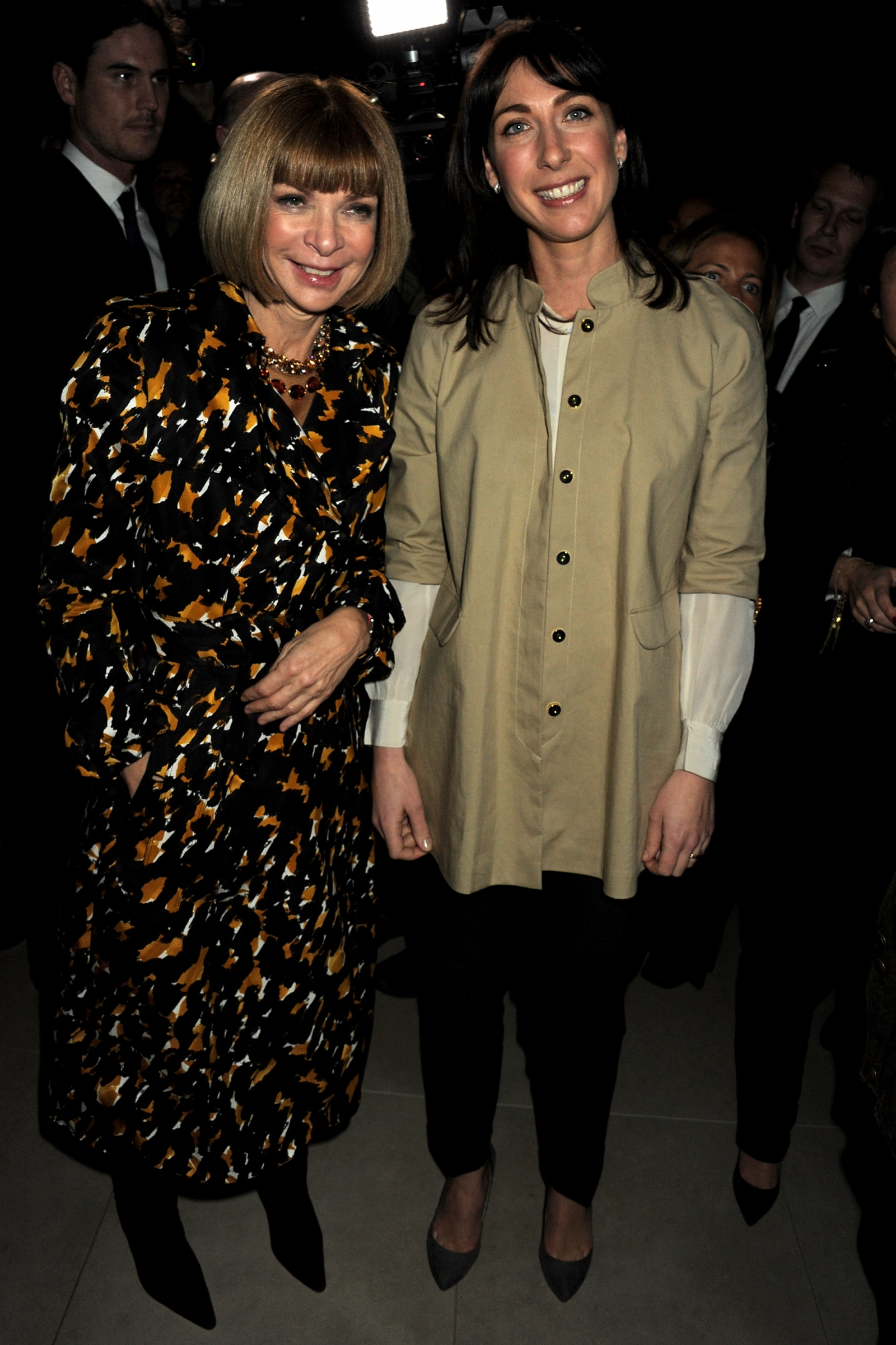 Anna Wintour and Sam Cam