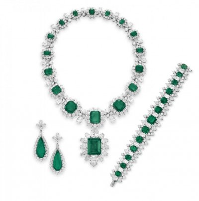The BVLGARI Emerald Suite
