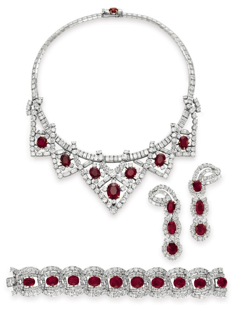 The Cartier Ruby Suite