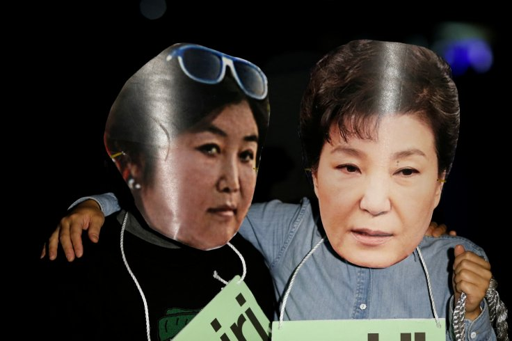 Choi Soon-sil and Park Geun-hye