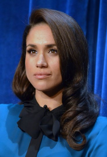 Meghan Markle at a promotional event for the TV show Suits