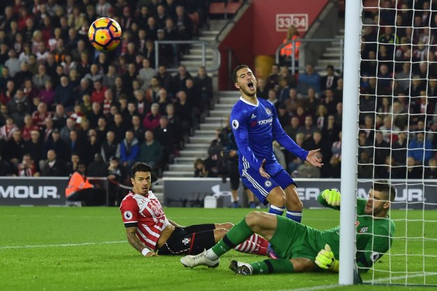 Eden Hazard rues a missed chance